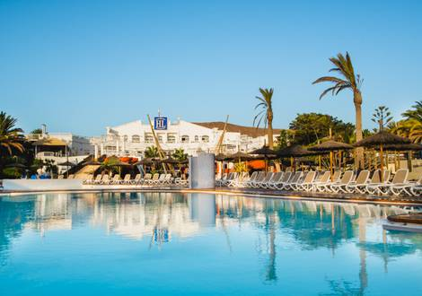 Schwimmbad HL Paradise Island**** Hotel Lanzarote